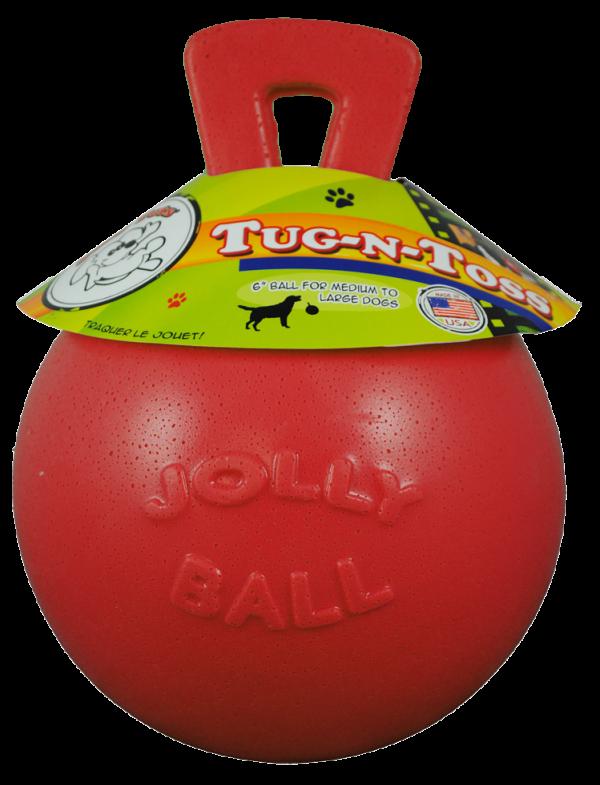 Jolly Tug-n-Toss 15 cm Rood