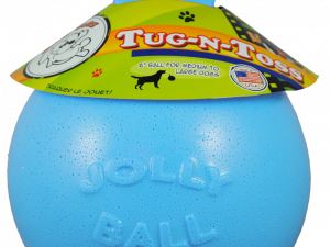 Jolly Tug-n-Toss 25cm Baby Blauw (Bosbessengeur)