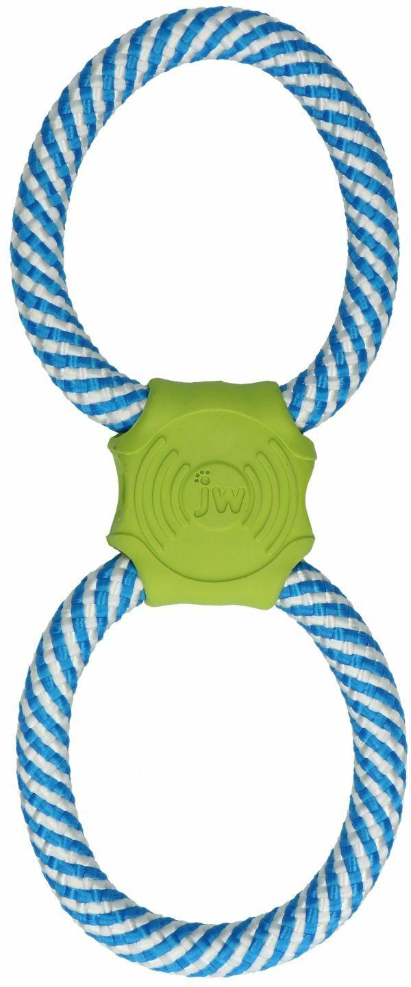 JW Giggle Tug blauw/groen