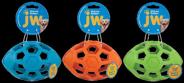 JW Hol-EE Roller Football (Rugby) Medium 15cm