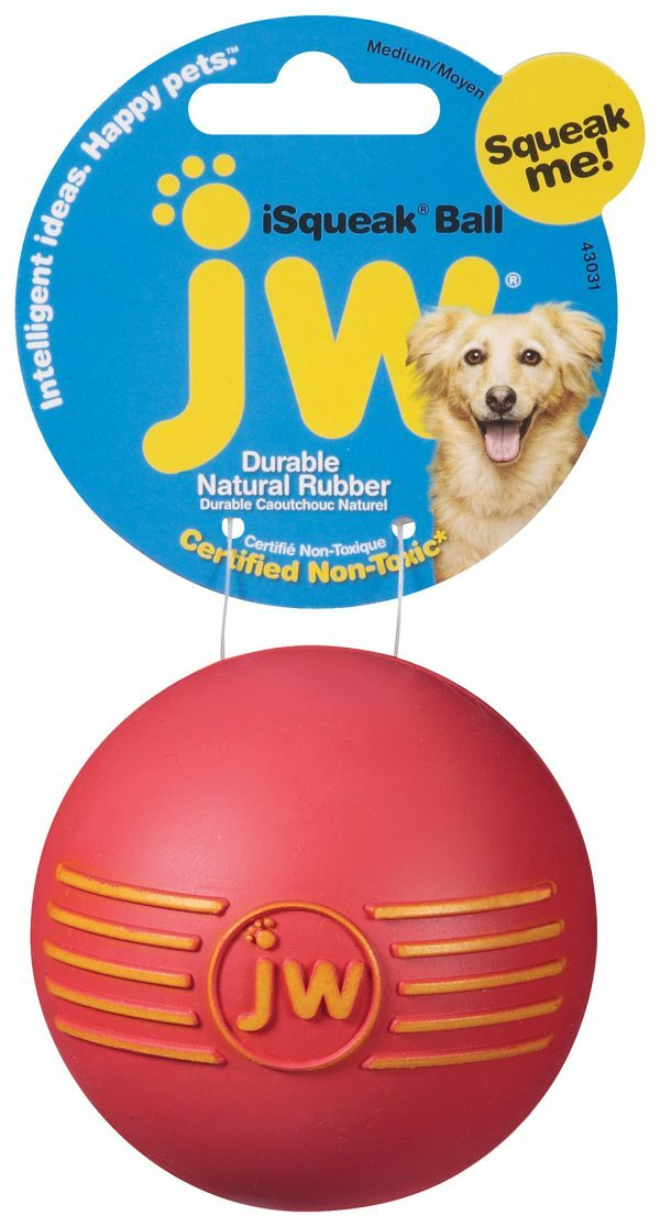 JW Isqueak Ball L 10 cm