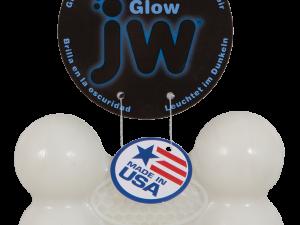 JW Megalast Glow Bone Medium