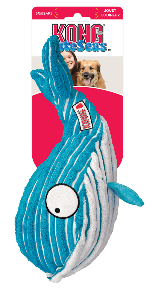 KONG Cuteseas Whale L 29,8 cm x 19,8 cm