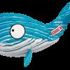 KONG Cuteseas Whale S 17,1 cm x 8,8 cm