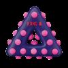 KONG Dotz Triangle Small