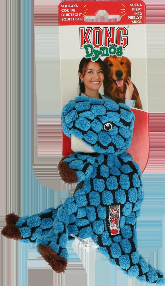 KONG Dynos T-Rex Blauw X-Small