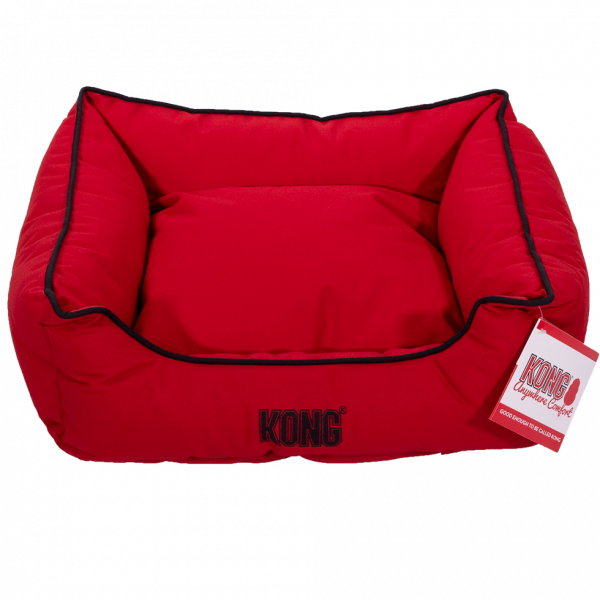 KONG Lounger Beds Small, Red
