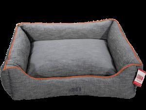 KONG Lounger Beds X-Large, Grijs met oranje lijn