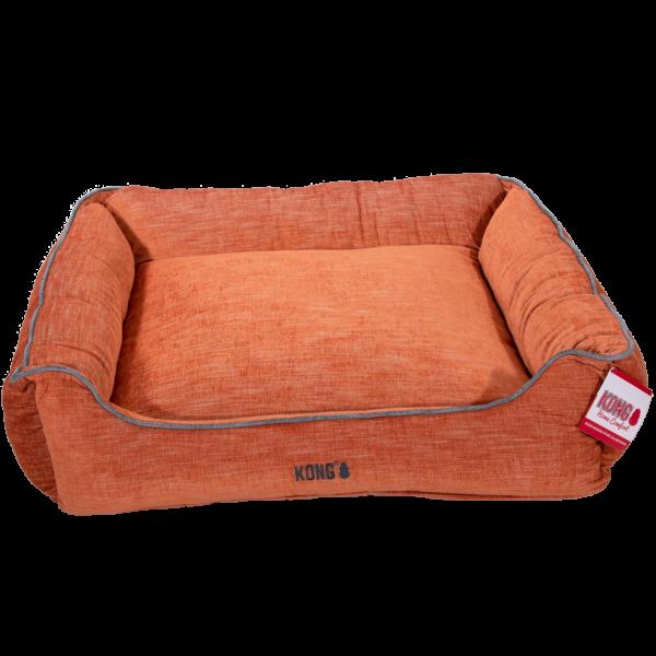 KONG Lounger Beds X-Large, Oranje met grijze lijn