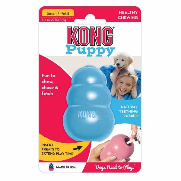 KONG Puppy S 7,6 cm Blauw of Roze
