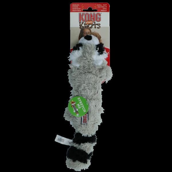 KONG Scrunch Knots Raccoon S/M