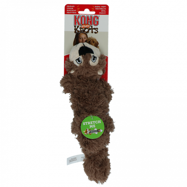 KONG Scrunch Knots Squirrel S/M