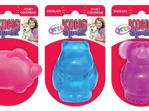 Kong Squeezz Jels M 7,6 cm x 5 cm Multicolor