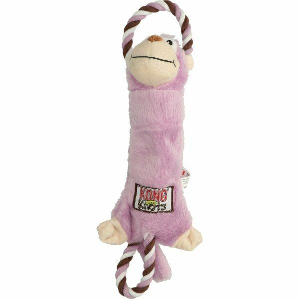 KONG Tugger Knots Monkey S
