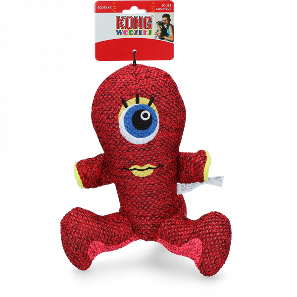 Kong Woozles Red Md EU