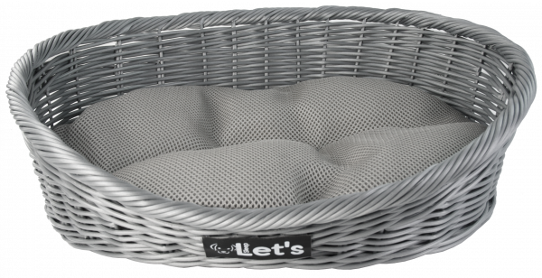 Let's Sleep Pet Bed L Grey