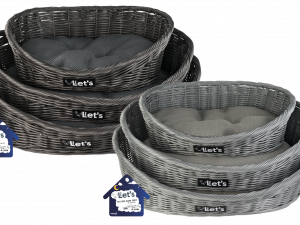 Let's Sleep Pet Bed S Grey