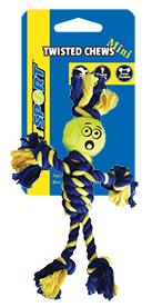 Mini Rasta Man Rope met 3,8 cm Tennis Ball