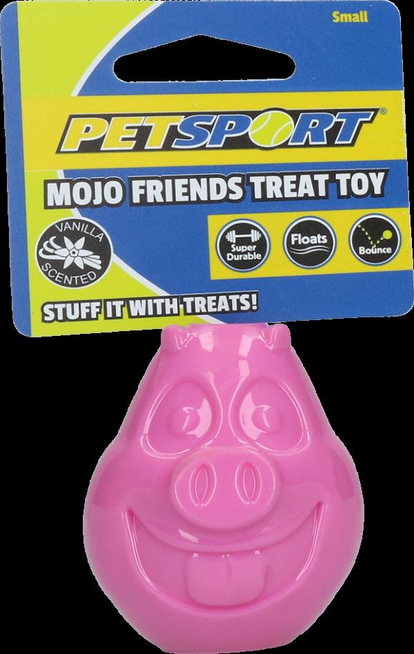 Mojo Friends Treat Ball Small Pig