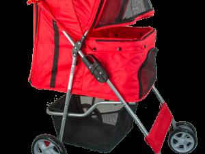 Pawise Pet Stroller Red