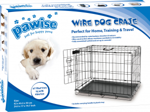 p16922  pawi12531 pawise wire dog crate s 1