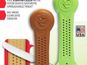 Pet Qwerks Flavorit Nylon Peanut Butter Bone S 10 cm 2 pcs.