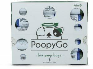 PoopyGo Eco friendly single roll lavendelgeur