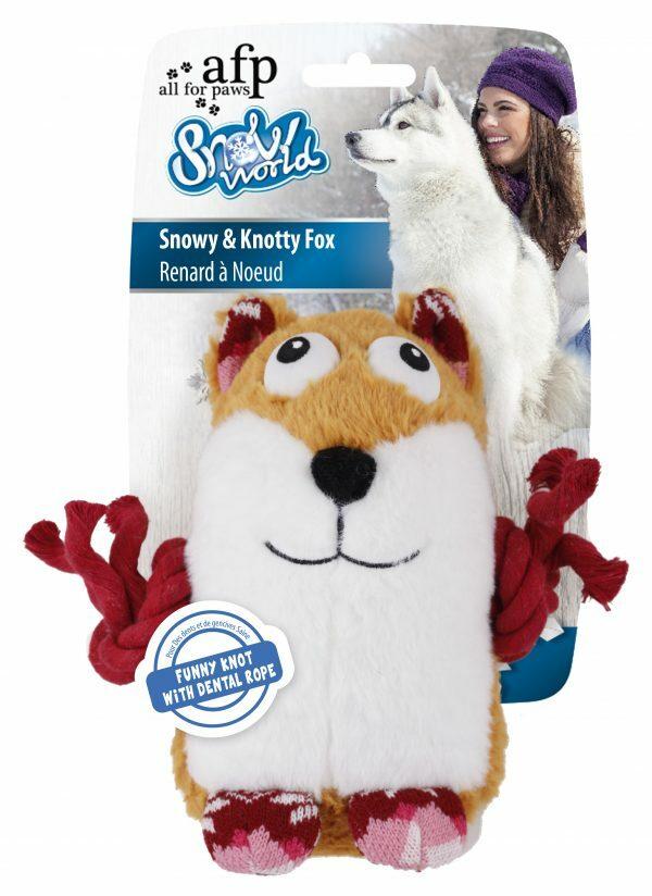 AFP Snowy & Knotty Fox (23x23x9cm)