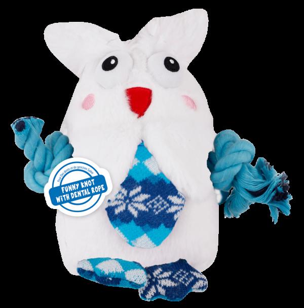 AFP Snowy & Knotty Owl (23x23x9cm)