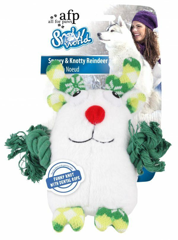 AFP Snowy & Knotty Reindeer (23x23x9cm)