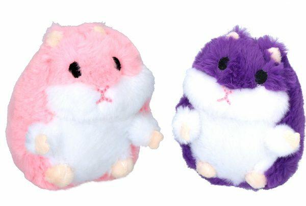 Tiny Tots Fat Hamster Roze