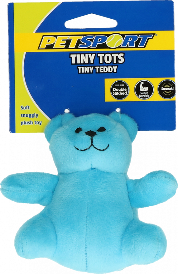 Tiny Tots Teddy Blue