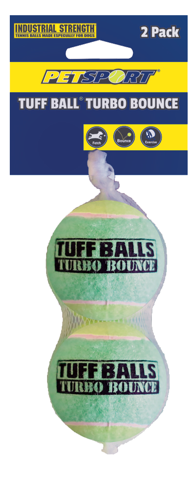 Tuff Ball 6 cmTurbo bounce 2-pk