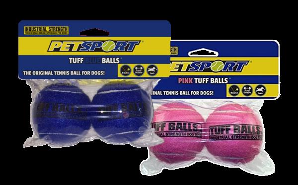 Tuff Blauwe Balls 6 cm 2-Pack