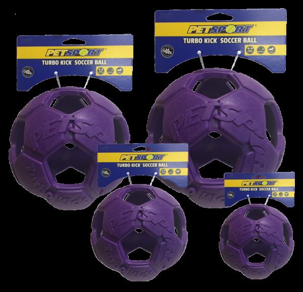 Turbo Kick Soccer Ball 10cm Paars