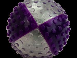 VisionSmart Visi-Ball transparant/paars