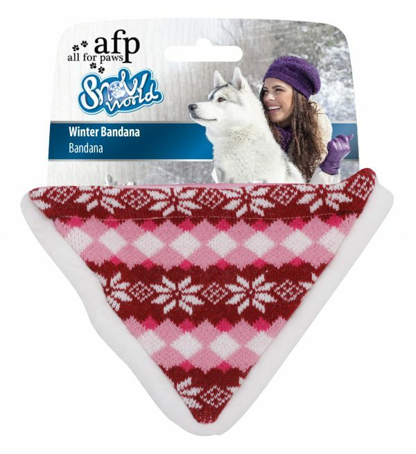 AFP Winter Bandana-Red (24x16x1,5cm)