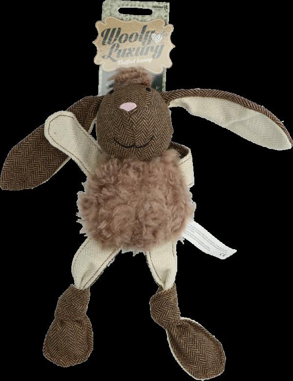 Wooly Luxury Flatfeet Konijn Bruin