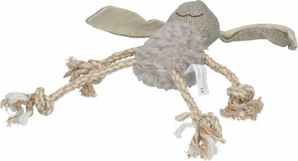 Wooly Luxury Ropy Konijn Grijs