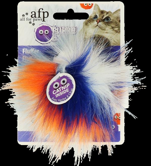 AFP Furry Fluffy Ball Orange