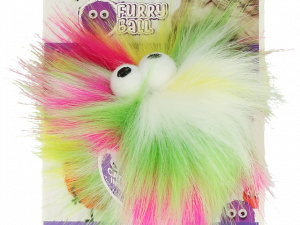 AFP Furry Fluffy Ball Yellow