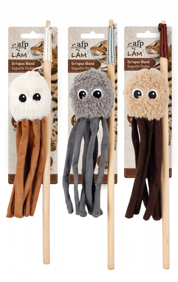 AFP Lambswool-Octupus Wand