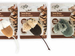 AFP Lambswool-Snow Mouse Catnip