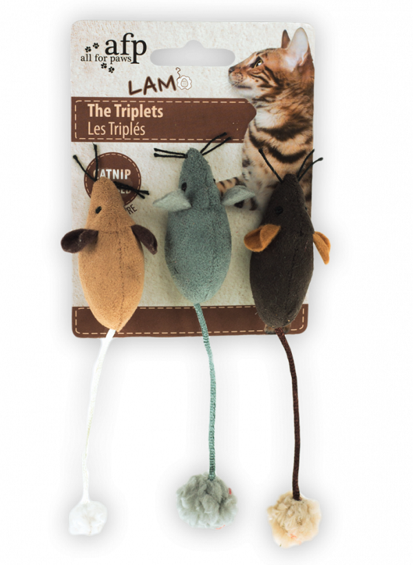 AFP Lambswool-The Triplets Catnip