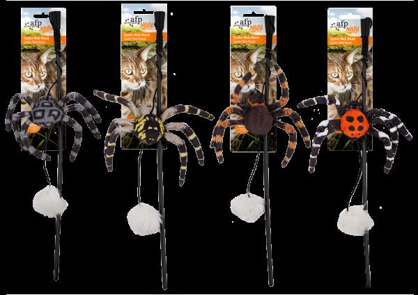 AFP Naturel Spider Web Wand assorted