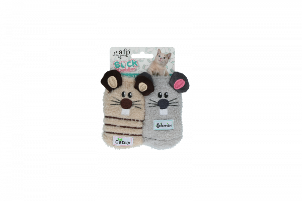 AFP Sock cuddler - Mouse sock - 2 pack