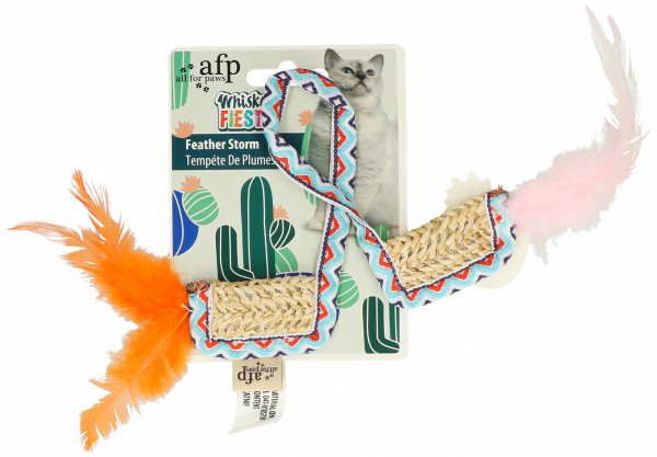 AFP Whisker Fiesta Feather storm