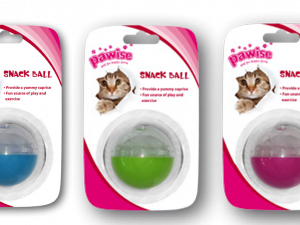 Cat Treat Ball 5cm assorti