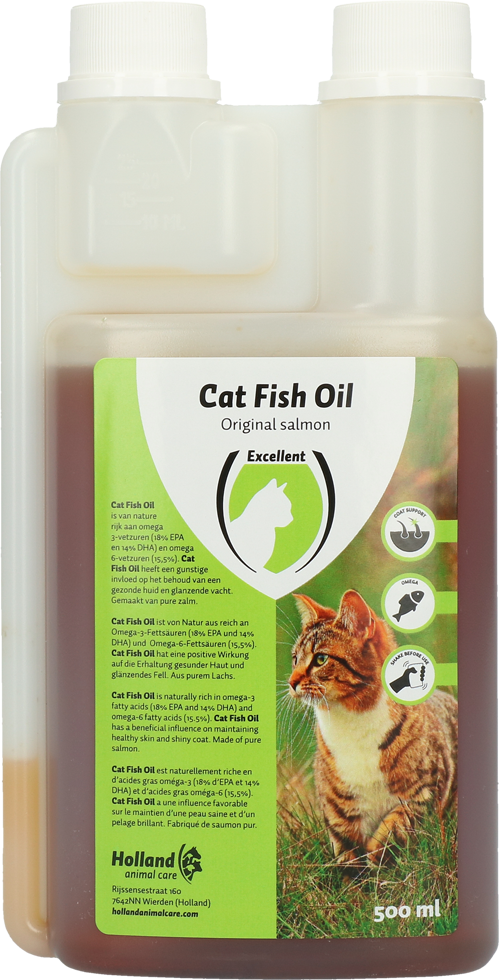 Cat Salmon Oil