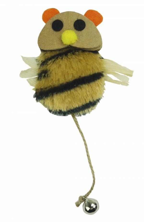 Crazy Cat Bee vol met Madnip
